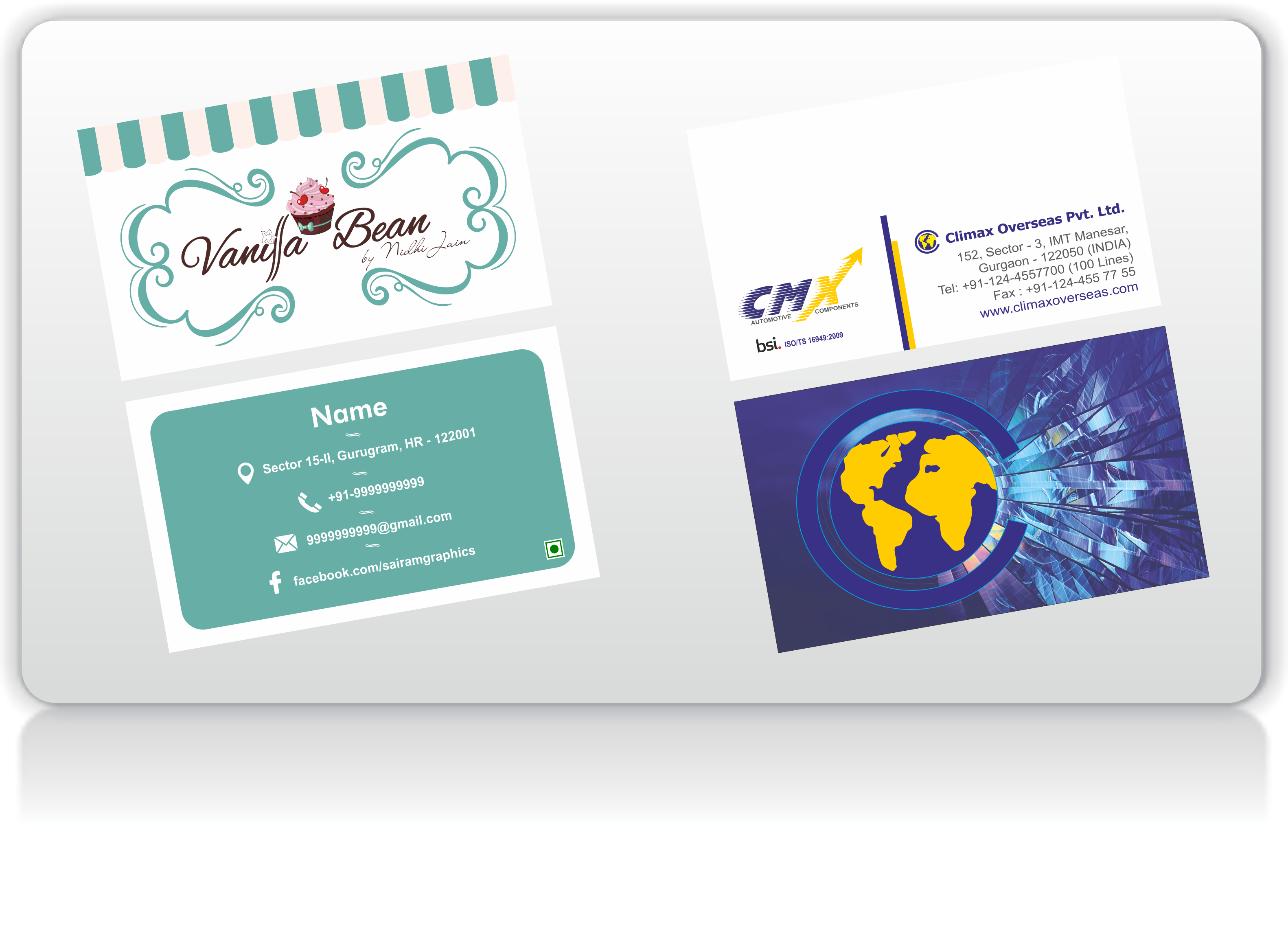Business card printing printbaazaar printing company v card 1 reheart Images
